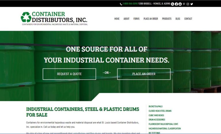 Container Distributors, Inc.