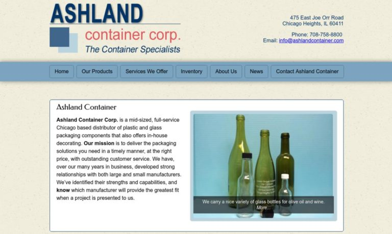 Ashland Container Corporation
