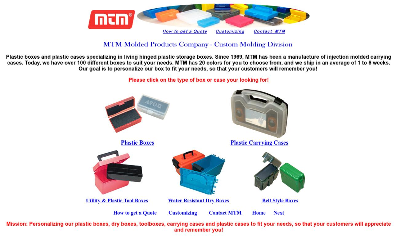 MTM® Molded Products Company
