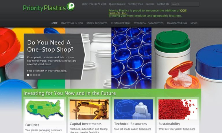 Priority Plastics, Inc.