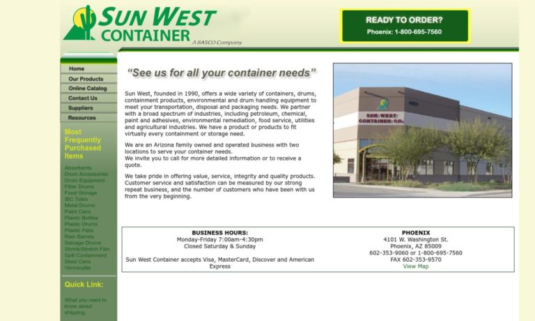 Sun West Container Co.