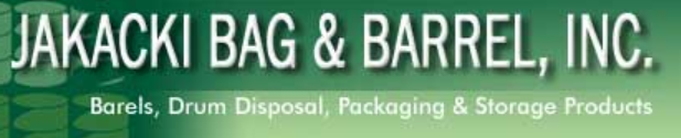 Jakacki Bag & Barrel, Inc. Logo